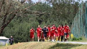 Demir Grup Sivassporun Bolu kampı başladı