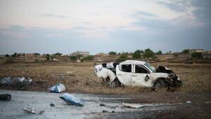 Boya ve tiner yüklü araç takla attı: 4 yaralı
