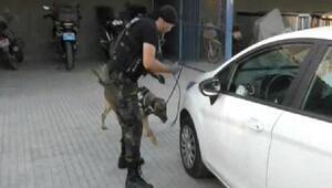 Otomobille 5 bin 190 uyuşturucu hap sevkiyatı şüphelisi tutuklandı
