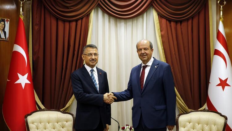 Oktay'dan KKTC Başbakanı Tatar'a ziyaret