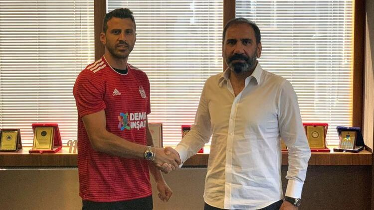 Caner Osmanpaşa Demir Grup Sivasspor'da