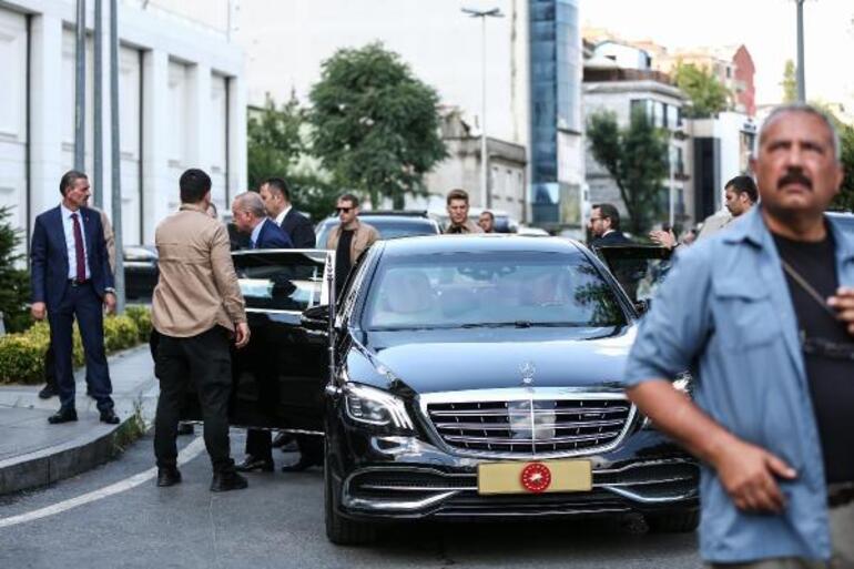 Cumhurbaşkanı Erdoğan İstanbulda milletvekilleri ile bir araya geldi