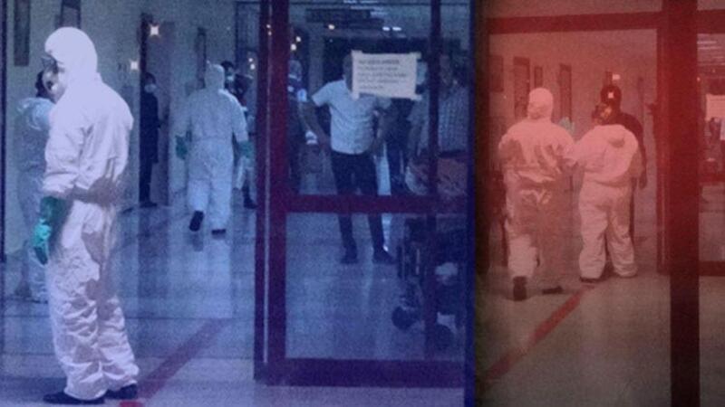 Diyarbakır'da kimyasal madde paniği, hastane katı kapatıldı